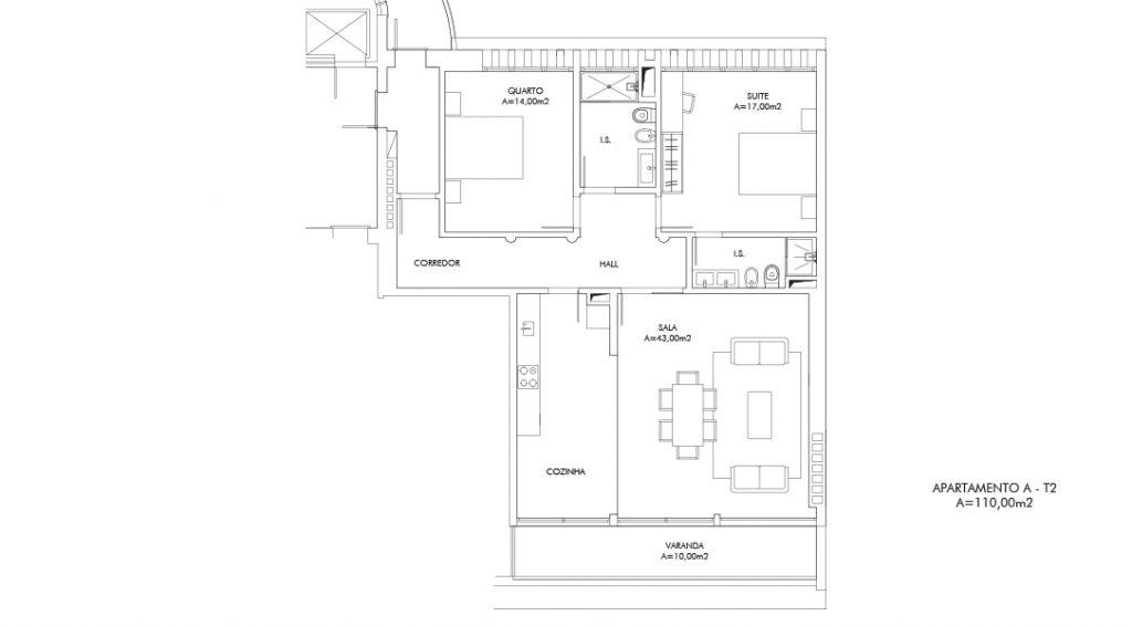 Planta Apartamento A