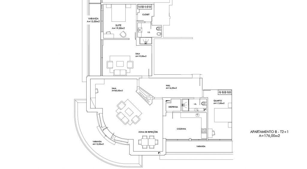 Planta Apartamento B