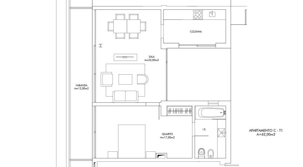 Planta Apartamento C
